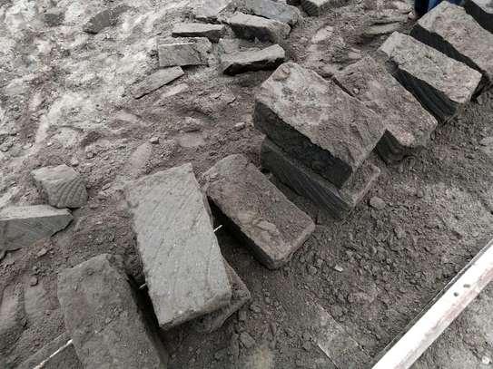 machine cut stones image 1