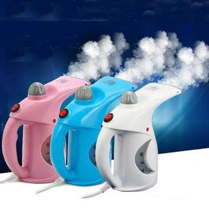 Electric Garment Steamer Brush for Ironing Portable Multifunction Pots/Facial Steamer - Assorted Colours image 1