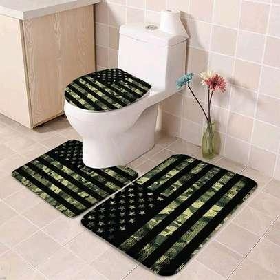 Toilet mat set image 5