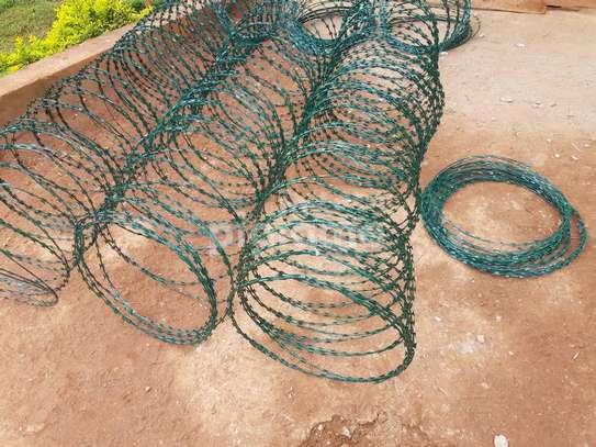 Green razor wire suppliers Kenya image 1