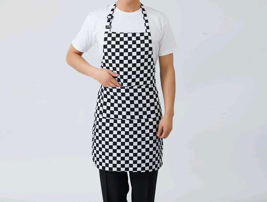 Apron black and white image 1