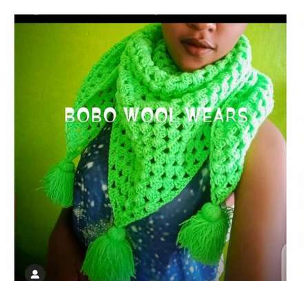 Stylish knitted women scarfs and Marvin image 4