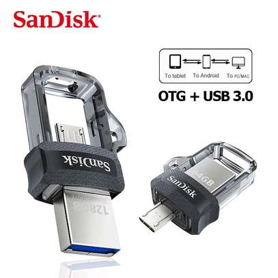 Sandisk- 64GB OTG Dual Drive 3.0 for Android Devices and Computers image 1