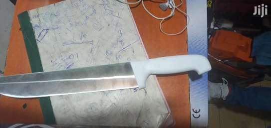 Heavy Duty Stainless Steel Skinning Knife image 1