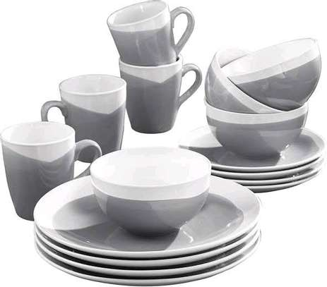 *24 Piece Ceramic Dinner set image 6