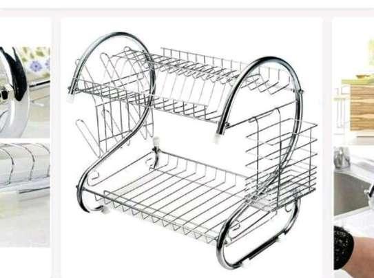 2 layers dish rack image 1