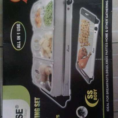 Electric chaffing dish/Electric cheffing dish/electric food warmer image 2