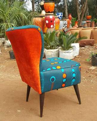 Kitenge Cocktail chairs image 3