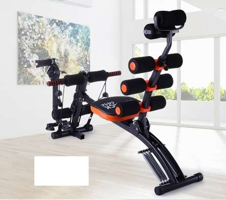 Complete Home Six Pack Ab Care Exerciser with Pedal