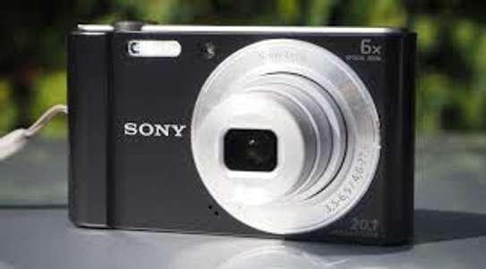 Sony CyberShot DSC W810 20.1MP Digital Camera image 1