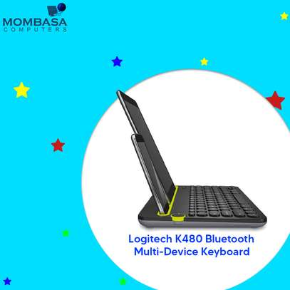 Logitech K480 Bluetooth Multi-Device Keyboard image 4