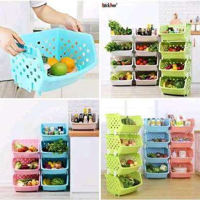 Stylish fruit or vegetable rack image 1