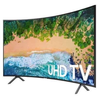 Samsung Smart 55 inches Curved Ultra HD 4K TV image 1