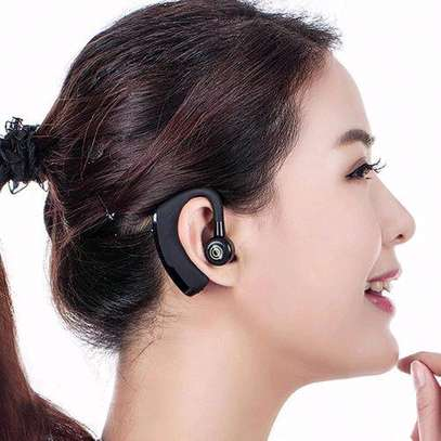 V9 Ear Wireless CSR Bluetooth Headset, Hands Free With Mic For And Android WWD image 4