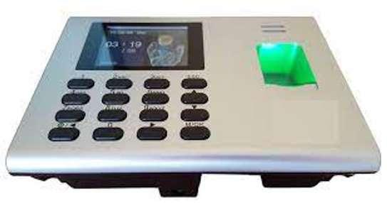 zkteco k40 time attendance biometric terminal image 1