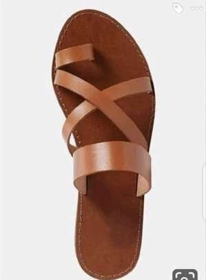 Leather sandals image 1