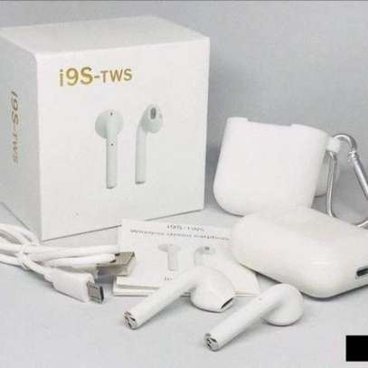 i9 Wireless TWS Sport Bilateral Stereo Bluetooth 5.0 Headset with Charging Box(White) image 1