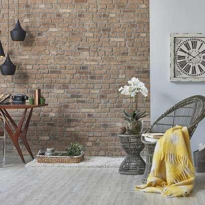 Bright surface self adhesive wallpaper image 2