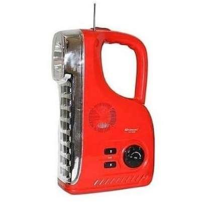 Emergency light with FM radio image 1