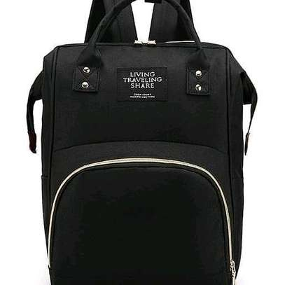 baby bag packs with insulation - black
