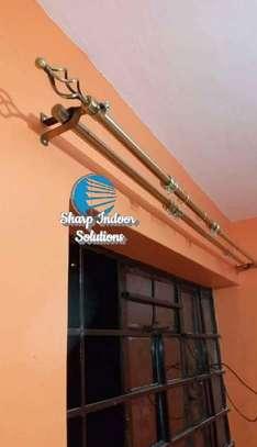 2m single curtain rods image 2