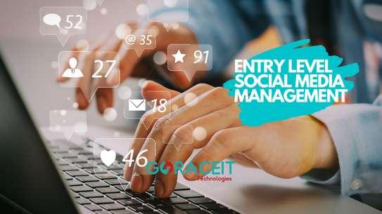 Entry Level Social Media Management image 1