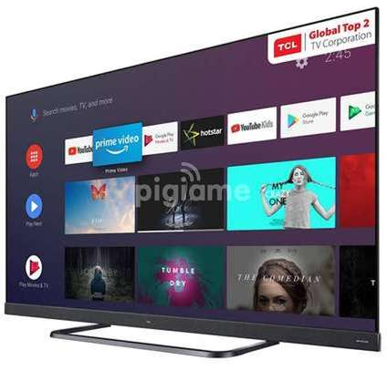 TCL 55 inches Android Smart C8 ONKYO tvs image 2