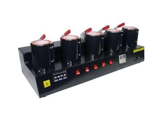 Bulk printing Factory machine 5 in 1 mug press machine image 1