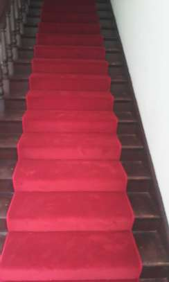 Executive Red Wall To Wall Carpets [10mm Thick Executve]