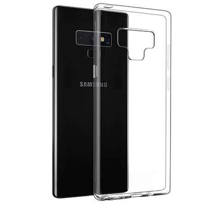 Clear TPU Soft Transparent case for Samsung Note 9 image 6