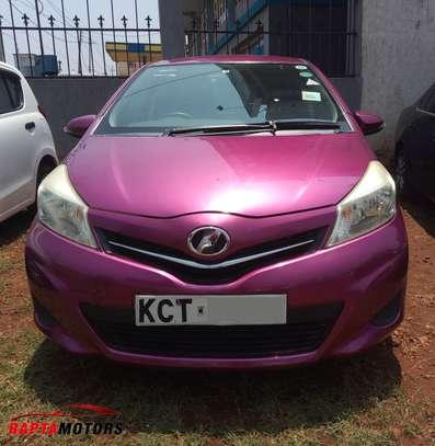 Toyota Vitz (Jewela) 2011 Purple For Sale In Nairobi image 1