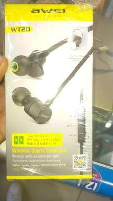 Awei WT20 Wireless earphones image 1