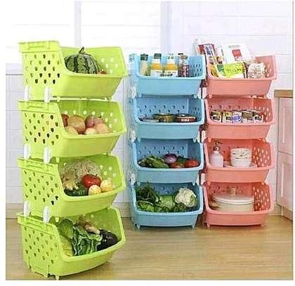 4- tier fruit rack /storage rack image 1