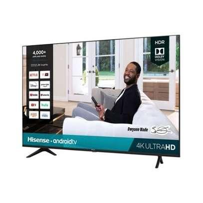 Hisense New 70 inch Android UHD-4K Frameless Smart Digital Tvs image 1