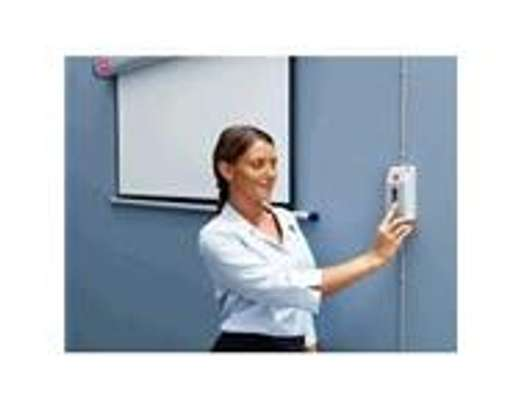Electric Wall Mount Projection Screen