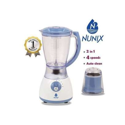 SHARE THIS PRODUCT   Nunix AK 300 2 In 1 Blender With Grinding Machine 1.5L New Model image 1