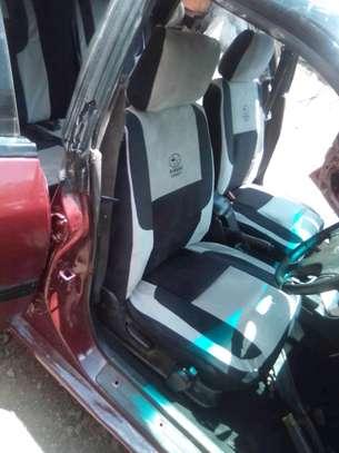 SUBARU CAR SEAT COVERS image 1