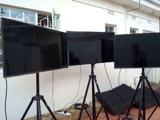 TV screens for hire