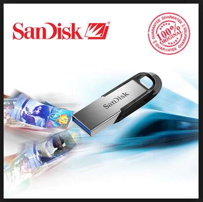 SanDisk 64GB Ultra Flair SanDisk Metallic & Blue Chipped for files, music, movies & Softwares image 3
