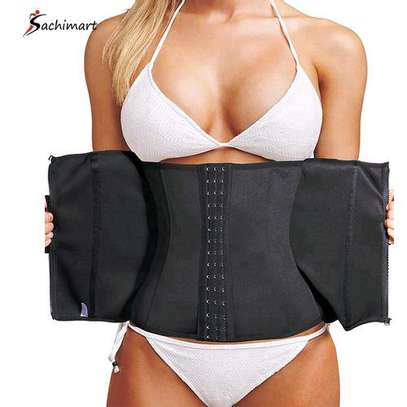 Fashion Private Label Fat Burning Body Shaper Women Sexy Lingerie Corset Wear Device Slimming Waist Trainer Belt Distributor image 1