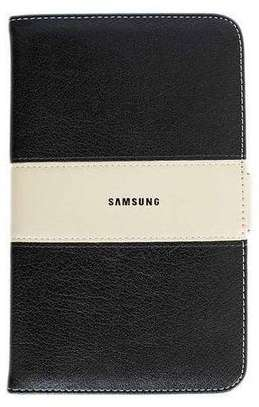 Samsung Logo Leather Book Cover Case With In-Pouch For Samsung Tab A 8.0 inches image 2