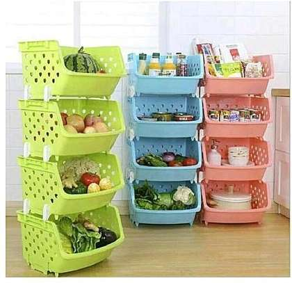 4 tier fruit rack image 1