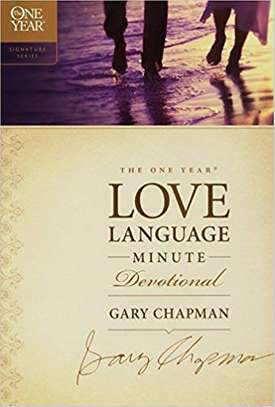 The One Year Love Language Minute Devotional (The One Year Signature Series) Paperback – September 1, 2009 by Gary Chapman  (Author) image 1