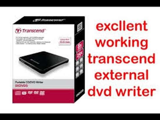 Transcend slim portable DVD Writer image 1