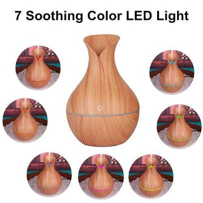 Ultrasonic Humidifier Aromatherapy Oil Diffuser Cool Mist With Color Light. image 3