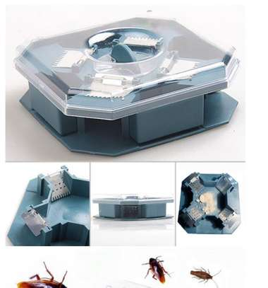 Home Kitchen Office Reusable Cockroach Traps Box image 4
