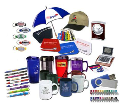 Branded or plain branding and gift merchandise.