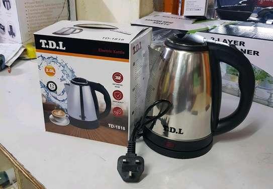 TDL Electric Kettle (Cordless) - 2.0 Litres