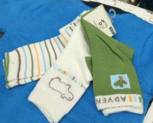 3 PC set baby socks image 3