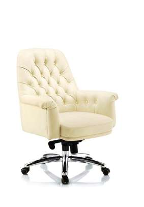 Emperor High Back Leather Office Chair image 1